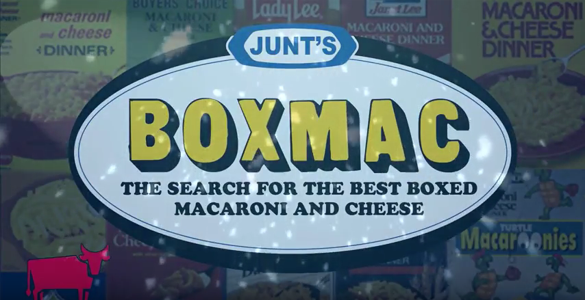 Junt's BoxMac The Search for the Best Boxed Macaroni and Cheese